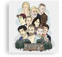 The Walking Dead / Season One Canvas Print