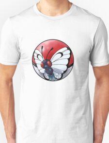 butterfree pokeball - pokemon T-Shirt
