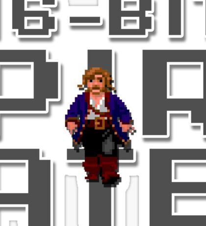 Guybrush - 16-Bit Pirate Sticker