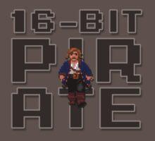 Guybrush - 16-Bit Pirate One Piece - Short Sleeve