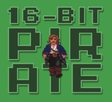 Guybrush - 16-Bit Pirate Kids Tee