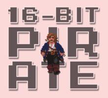Guybrush - 16-Bit Pirate Kids Tee
