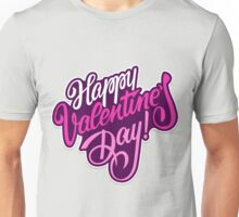 Happy valentine day background Unisex T-Shirt