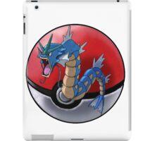 Gyarados pokeball - pokemon iPad Case/Skin