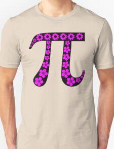 Floral Pi Unisex T-Shirt