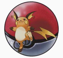 raichu pokeball - pokemon by pokofu13