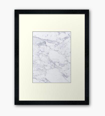 Marble #2 Framed Print