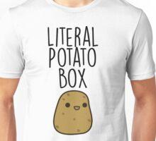 Literal Potato Box Unisex T-Shirt