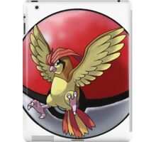 pidgeotto pokeball - pokemon iPad Case/Skin