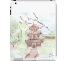 Asian pagoda (B) iPad Case/Skin