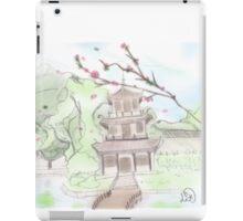 Asian pagoda (C) iPad Case/Skin