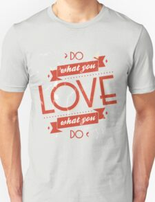 Poster of do what you love T-Shirt