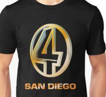 Channel 4 San Diego (Gold) Unisex T-Shirt