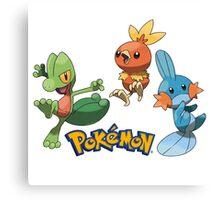 pokemon characters 003 Canvas Print