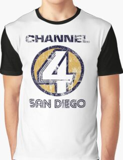 Channel 4 San Diego Graphic T-Shirt