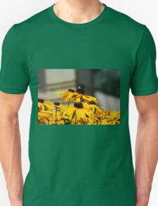 Bee on Rudbeckia Flowers T-Shirt