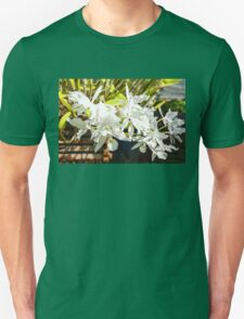 Tropical Impressions - Elegant White Orchids T-Shirt