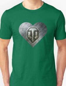 World of Tanks (WoT) love heart T-Shirt