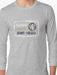 KVWN News 4 San Diego (Distressed) Long Sleeve T-Shirt