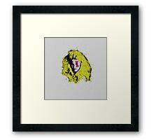 Claudia Schiffer - top model - pop icon Framed Print