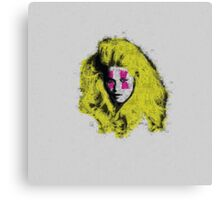 Claudia Schiffer - top model - pop icon Canvas Print
