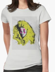 Claudia Schiffer - top model - pop icon Womens Fitted T-Shirt