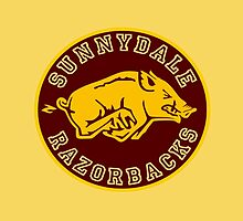 Buffy-Sunnydale  Razorbacks by KikkaT
