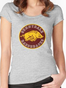 Buffy-Sunnydale  Razorbacks Women's Fitted Scoop T-Shirt