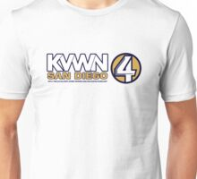KVWN San Diego (Outlined) Unisex T-Shirt