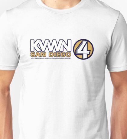 KVWN San Diego (Outlined) Unisex T-Shirt