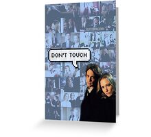 Spencer x JJ|| Dont touch Greeting Card