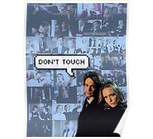 Spencer x JJ   Dont touch Poster