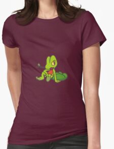 Treecko Womens Fitted T-Shirt