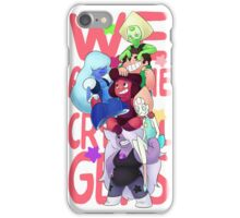 We are the crystal gems iPhone Case/Skin