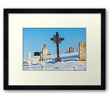 Iron Cross - Cape Breton Island Framed Print