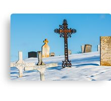 Iron Cross - Cape Breton Island Canvas Print
