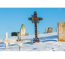Iron Cross - Cape Breton Island Photographic Print