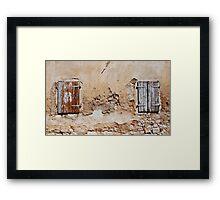 Building in Bakar Framed Print