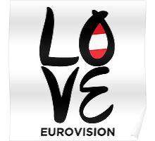 LOVE Eurovision [Austria] Poster