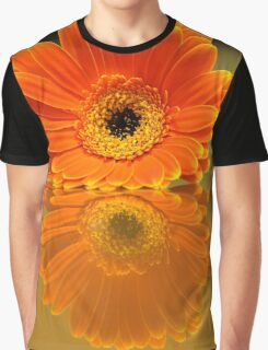 Double Orange Graphic T-Shirt