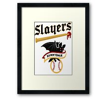 Slayers -sunnydale Framed Print