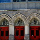 Red Doors by Tracey Hampton
