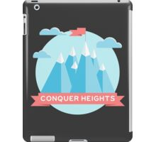 Conquer heights iPad Case/Skin