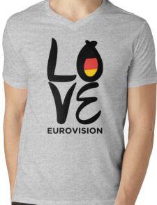 LOVE Eurovision [Germany] Mens V-Neck T-Shirt