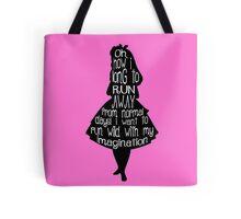 Alice's Imagination  Tote Bag