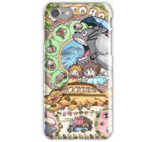 Totoro Miyazaki iPhone Case/Skin