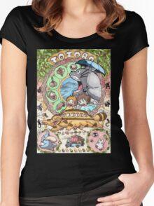 Totoro Miyazaki Women's Fitted Scoop T-Shirt