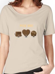 Character Building - Chocolates Women's Relaxed Fit T-Shirt