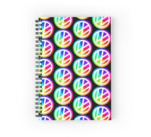 Rainbow VW Spiral Notebook