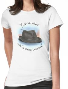 Hat For Leonard Cohen Womens Fitted T-Shirt